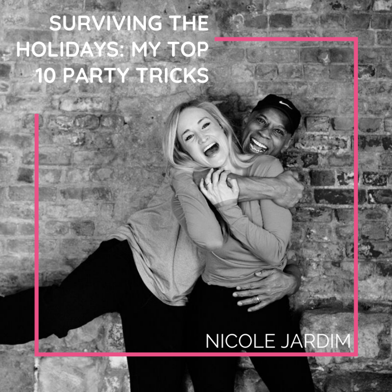 Surviving The Holidays: My Top 10 Party Tricks