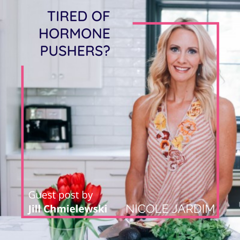 Tired of Hormone Pushers?