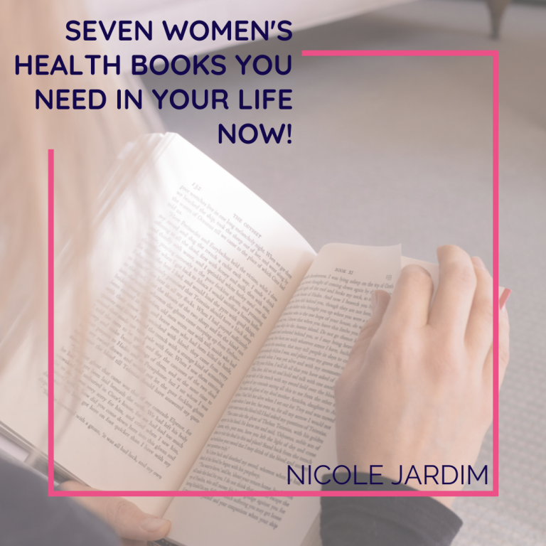 SEVEN women's health books you need in your life now!