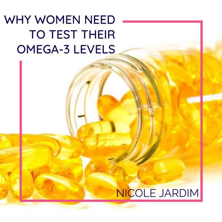 Why Women Need To Test Their Omega-3 Levels