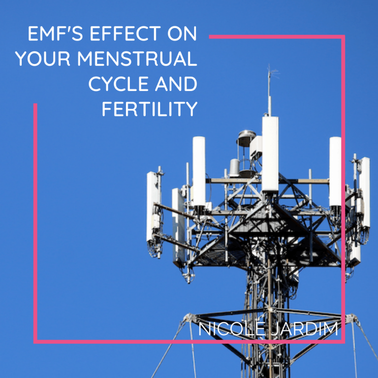 EMF's effect on your menstrual cycle and fertility