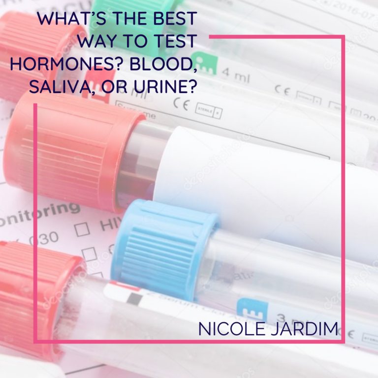 What's the best way to test hormones? Blood, saliva, or urine?