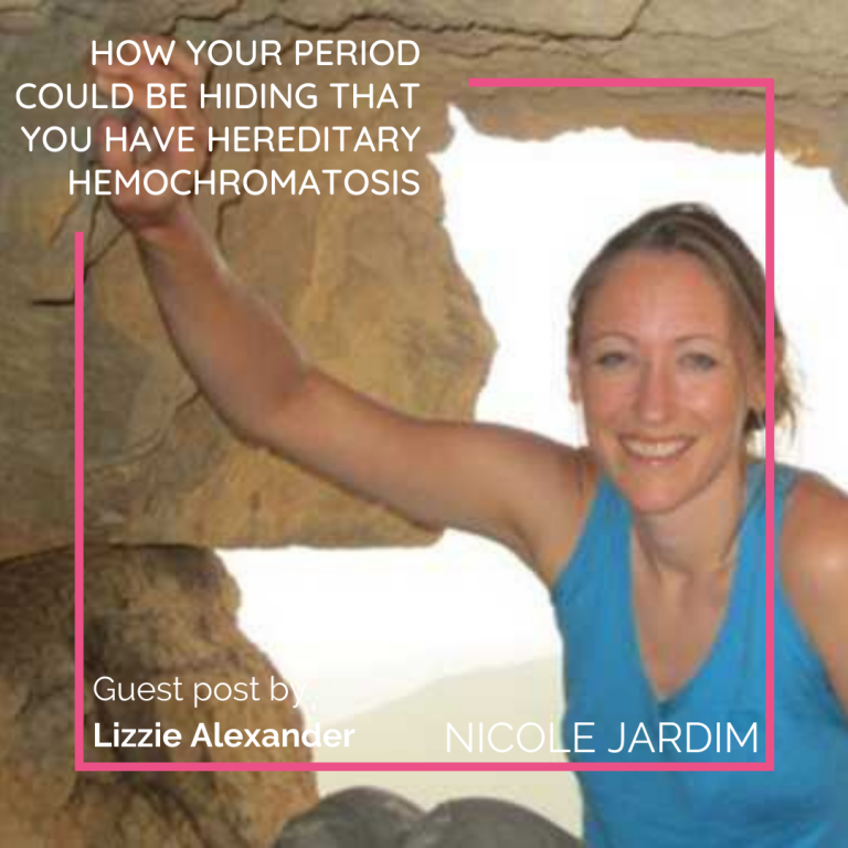 How Your Period Could be Hiding that You Have Hereditary Hemochromatosis