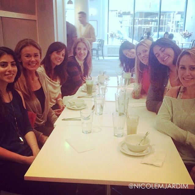 Nicole Jardim with Friends