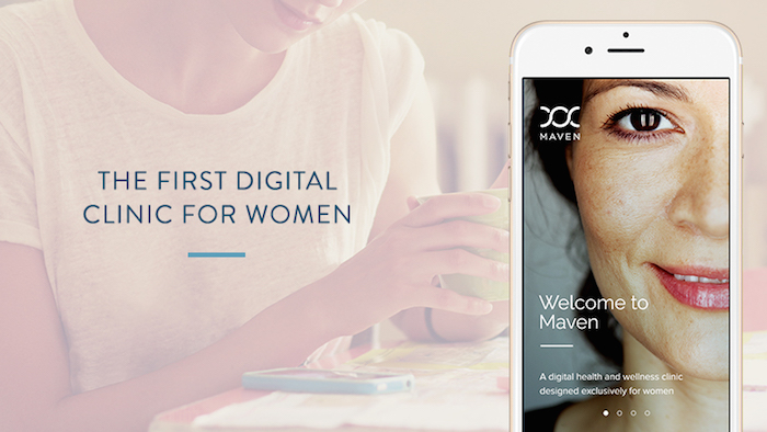 Maven. The first digital clinic for women