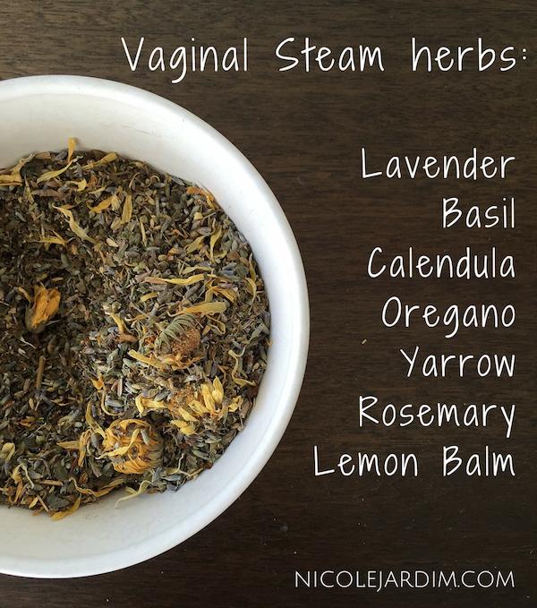 Vaginal Steam herbs- Nicole Jardim