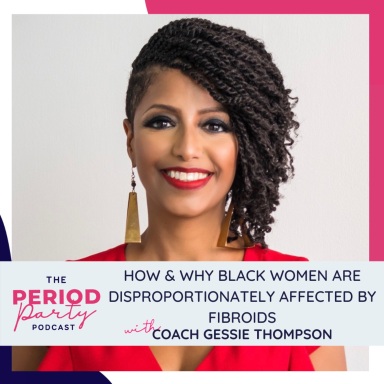 Coach Gessie Thompson Period Party Podcast Guest Square