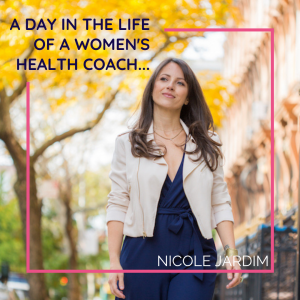A day in the life of a women's health coach...