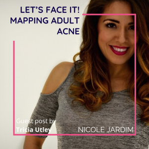 Let's Face it! Mapping Adult Acne