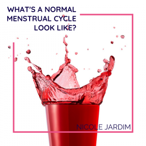 What's a normal menstrual cycle look like?